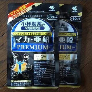 コバヤシセイヤク(小林製薬)のマカ 亜鉛 プレミアム 約30日分×2袋セット(その他)
