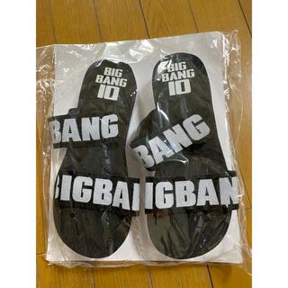 ビッグバン(BIGBANG)のBIGBANG サンダル (アイドルグッズ)