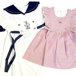 セリーヌ(celine)のCELINE baby Dior 85 95 2点セット(ワンピース)