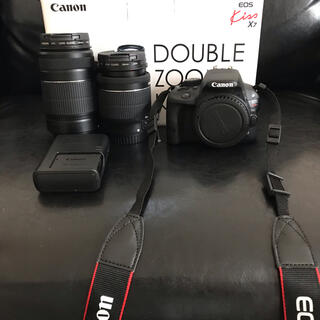 Canon - Canon EOS KISS 7 ダブルズームキット