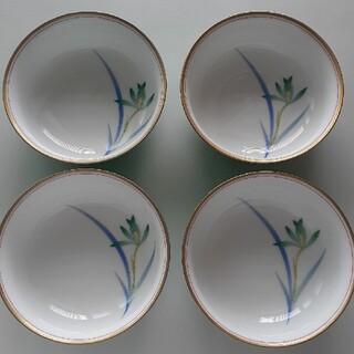 香蘭社 - 香蘭社 蘭の小鉢 4つ
