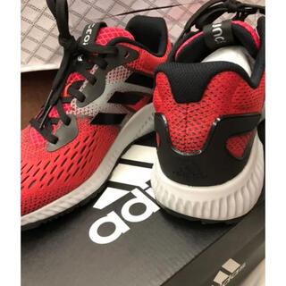 アディダス(adidas)の新品アディダスAERO BOUNCE adidas CG4653 ハイレゾレッド(シューズ)