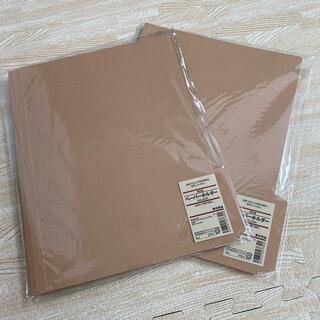 ムジルシリョウヒン(MUJI (無印良品))の無印 ペーパーホルダー 5枚×2セット(ファイル/バインダー)