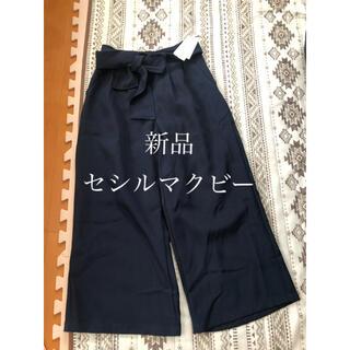 CECIL McBEE - 新品☆ワイドパンツ☆ガウチョ☆パンツ☆セシルマクビー
