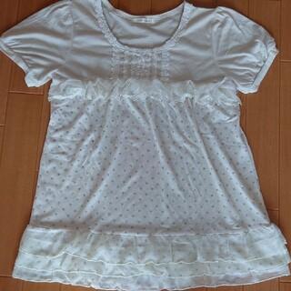 アクシーズファム(axes femme)のaxes femmeチュニックTシャツ(Tシャツ(半袖/袖なし))