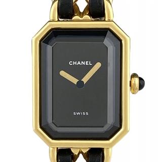 シャネル(CHANEL)のシャネル プルミエールM H0001 クオーツ レディース 【中古】(腕時計)