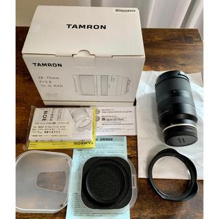 TAMRON - タムロン28-75mm f/2.8 Di iii RXD ソニーEマウント用
