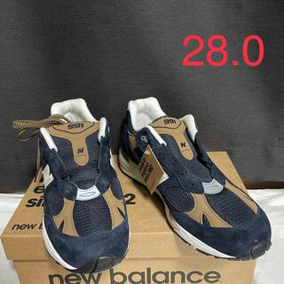 ニューバランス(New Balance)のNew Balance M991DNB 28.0cm made in UK(スニーカー)