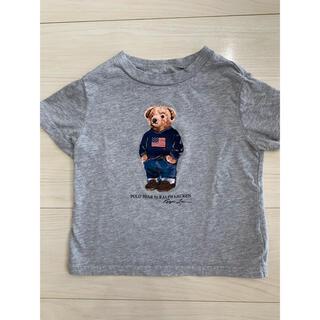 Ralph Lauren - ラルフローレン ポロベア Tシャツ 90 グレー