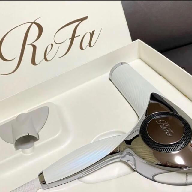 ReFa(リファ)の一年無料保証付リファ ビューテックドライヤー ホワイト スマホ/家電/カメラの美容/健康(ドライヤー)の商品写真
