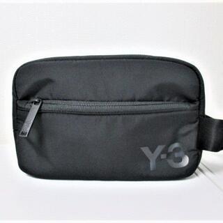 ワイスリー(Y-3)の☆Y-3 ワイスリー セカンドバッグ クラッチバッグ/メンズ/ブラック☆新品(セカンドバッグ/クラッチバッグ)