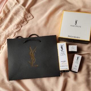 イヴサンローランボーテ(Yves Saint Laurent Beaute)のイヴ・サンローラン ケース ショップバック(ショップ袋)