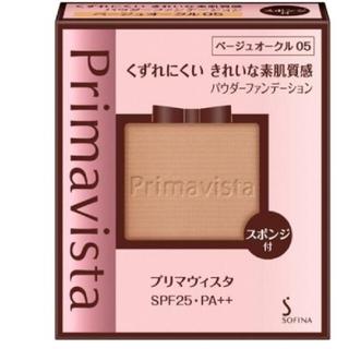 プリマヴィスタ きれいな素肌質感 パウダーファンデーション ベージュオークル05
