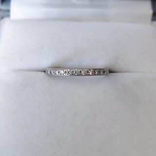 ヨンドシー(4℃)の4℃ ダイヤモンド エタニティ リング Pt950 2.0mm 3.0g(リング(指輪))