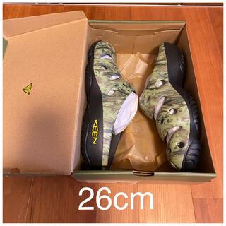 キーン(KEEN)の最終価格6999円 新品未使用 KEEN キーン ヨギ サンダル 26cm 迷彩(サンダル)