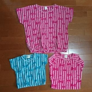 ユニカ(UNICA)のUNICA 親子コーデ Tシャツ 半袖 3点 100・110・160 ユニカ(Tシャツ/カットソー)