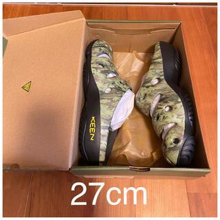 キーン(KEEN)の27cm 新品未使用 KEEN キーン ヨギ アーツ サンダル 迷彩 カモフラ柄(サンダル)