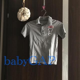 ベビーギャップ(babyGAP)のベビーギャップ ヴィンテージデザインポロシャツ(Tシャツ/カットソー)