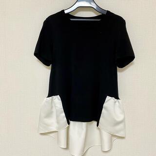 Drawer - YOKO CHAN  ヨーコチャン バックギャザーフリル カットソー  Tシャツ