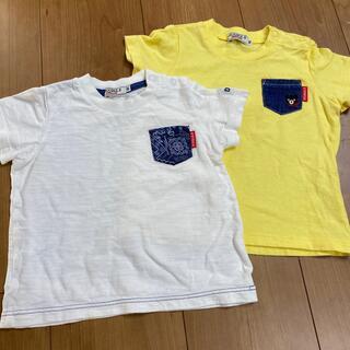 DOUBLE.B - ダブルビー Tシャツ 80 2枚セット