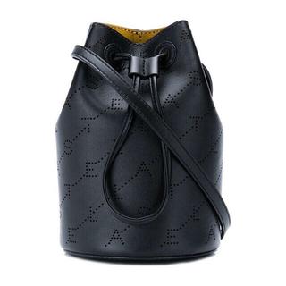ステラマッカートニー(Stella McCartney)のステラマッカートニー モノグラム バケツバッグ 巾着式 ミニバッグ(ショルダーバッグ)