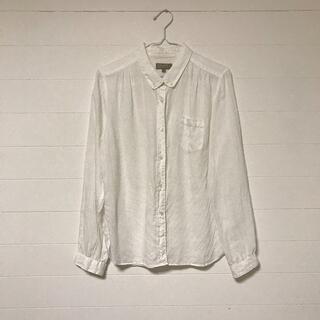 マーガレットハウエル(MARGARET HOWELL)のMARGALET HOWELL  リネン ボタンダウンシャツ2枚セット(シャツ/ブラウス(長袖/七分))