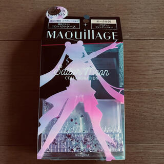 MAQuillAGE - 未使用☆資生堂 マキアージュ ファンデーション用ケース☆セーラームーン