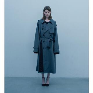 サンシー(SUNSEA)のstein 20ss double shade trench coat 貴重L(トレンチコート)