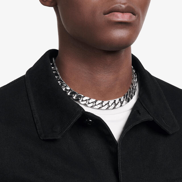 LOUIS VUITTON(ルイヴィトン)のLOUIS VUITTON コリエ・LVチェーンリンクス ネックレス メンズのアクセサリー(ネックレス)の商品写真
