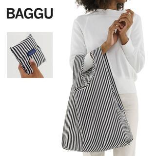 BEAMS - 新品未使用 スタンダード バグー ストライプ ブラックホワイト 白黒 BAGGU