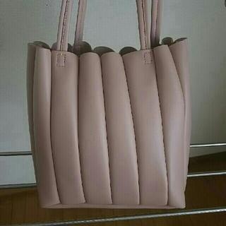 シマムラ(しまむら)のプリーツトートバッグ しまむら(トートバッグ)