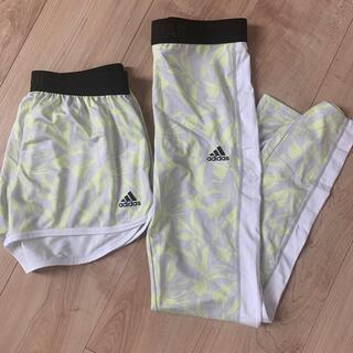 adidas - レギンス、ショートパンツ