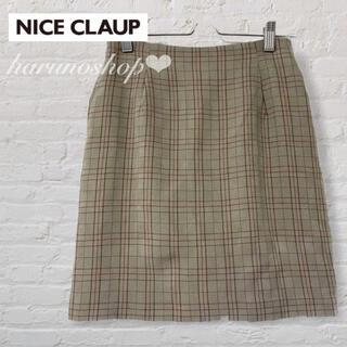 NICE CLAUP - ナイスクラップ スカート キュロットスカート nice claup 夏 チェック