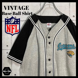 アートヴィンテージ(ART VINTAGE)の【激レア】VINTAGE ベースボールシャツ NFL バイカラー 入手困難 L(Tシャツ/カットソー(半袖/袖なし))
