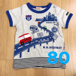 mikihouse - ミキハウス Tシャツ 80 mikihousu
