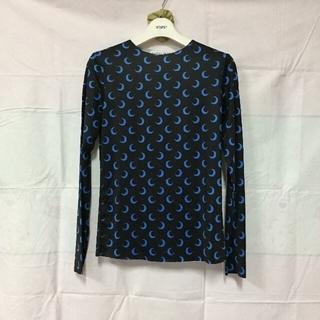 マルタンマルジェラ(Maison Martin Margiela)の MARINE SERRE  クレセントムーン ジャージ トップ(Tシャツ(長袖/七分))