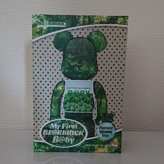 MEDICOM TOY - ベアブリック MY FIRST   FOREST GREEN 千秋