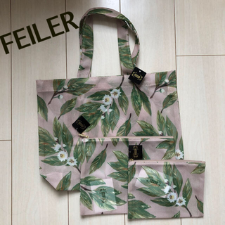 FEILER - 【新品】フェイラー バッグ ポーチ 3点セット