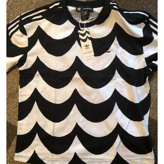 adidas - adidas マリメッコオーバーサイズTシャツ!  S