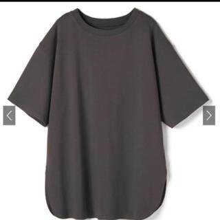GRL - オーバーサイズラウンドヘムTシャツ