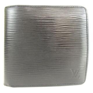 ルイヴィトン(LOUIS VUITTON)のルイ ヴィトンM60612エピ ポルトフォイユ マルコ 二つ折り財布11-515(折り財布)