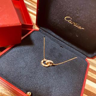 Cartier - カルティエ LOVEネックレス ピンクゴールド