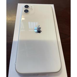 Apple - 【新品】iPhone11本体 64GB  ホワイト