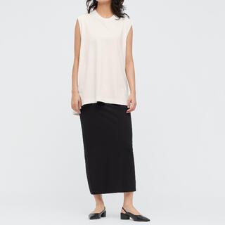 UNIQLO - 新品タグ付 UNIQLO mame エアリズムコットンスリットスカート