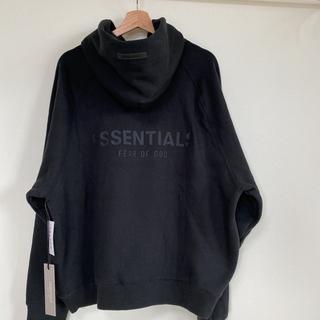 Essentials Black Hoodie M