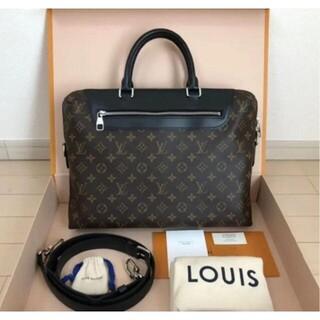LOUIS VUITTON - Louis Vuitton PDJ NM マカサー ブリーフケース