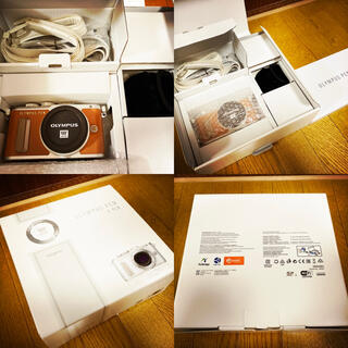 OLYMPUS - ★美品★OLYMPUS オリンパス PEN E-PL8 レンズセット ブラウン★