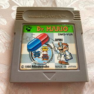 ゲームボーイ(ゲームボーイ)のゲームボーイ ドクターマリオ(携帯用ゲームソフト)