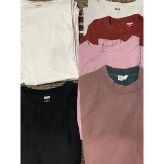 UNIQLO - UNIQLO U ユニクロ Tシャツ クルーネック 8枚セット XL