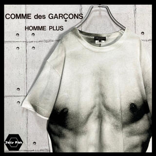 コムデギャルソンオムプリュス(COMME des GARCONS HOMME PLUS)の【希少】COMME des GARÇONS/コムデギャルソン 転写 だまし絵 M(Tシャツ/カットソー(半袖/袖なし))